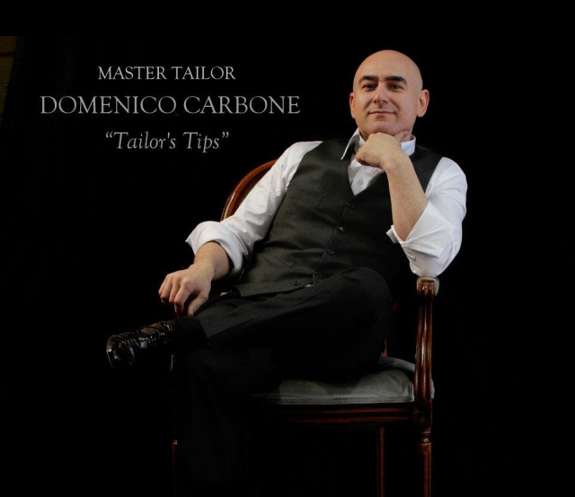 Melbourne Tailor Domenico Carbone Shares Grooming Advice