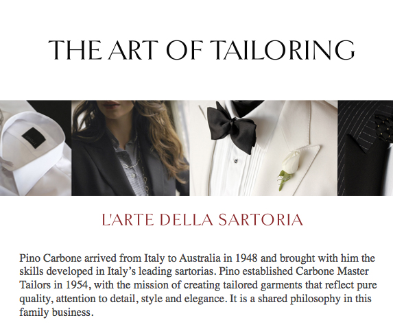 Melbourne tailors bespoke